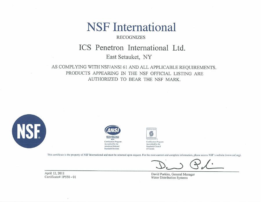 nsf-certificate-2011